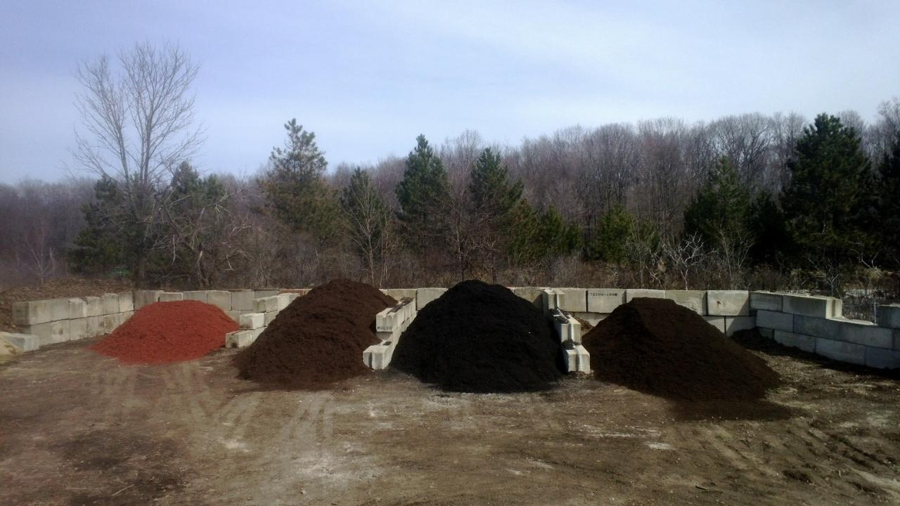 Many mulch varieties
