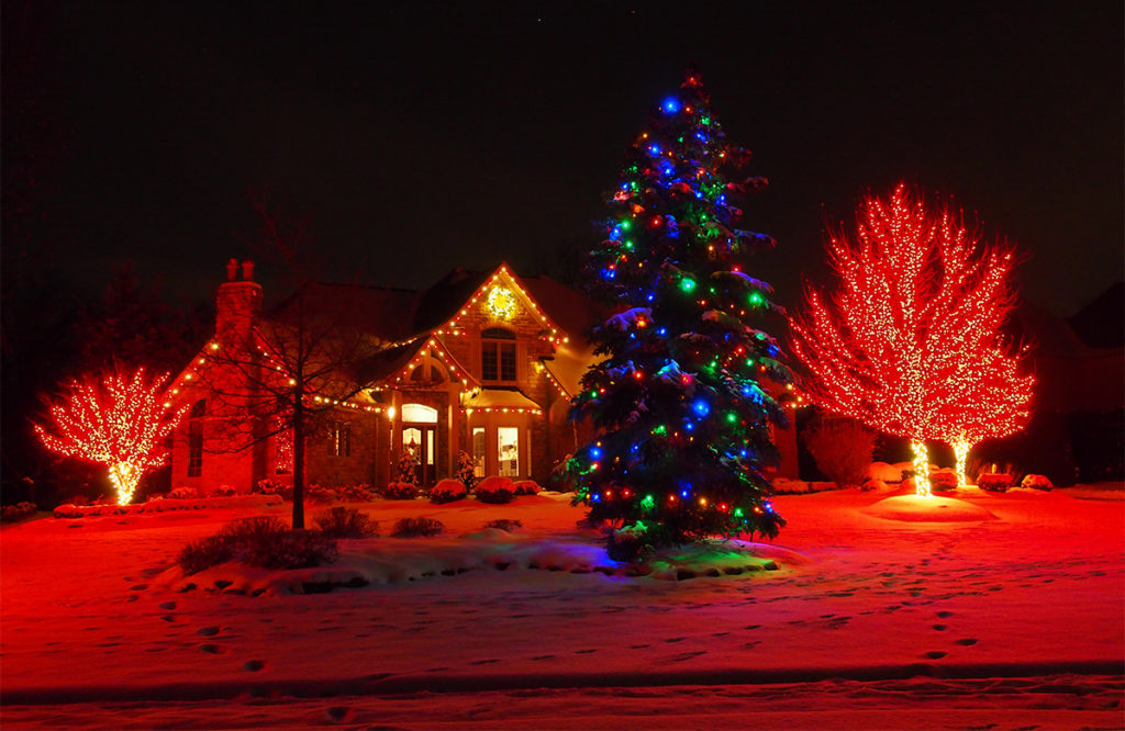 Outdoor Holiday Lighting