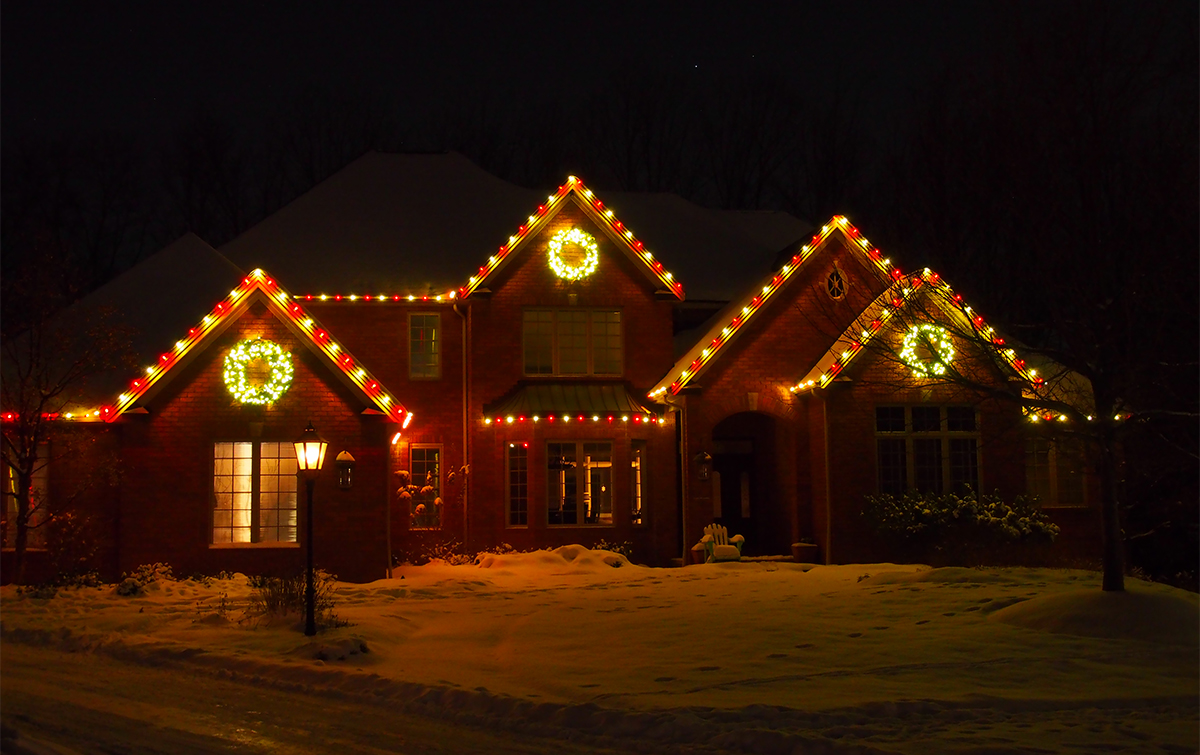 Holiday Lighting | Absolute Precision Landscape & Supply