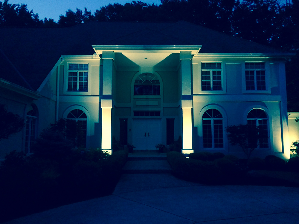 Dramatic Home Lighting